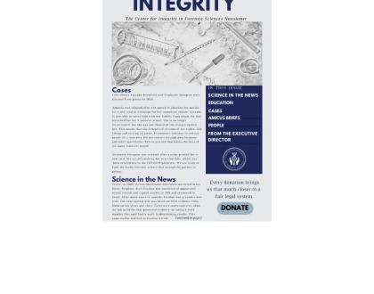 CIFS 2021 1st Quarter Newsletter